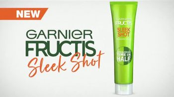 Garnier Fructis Sleek Shot TV Spot, 'Skip the Flat Iron' Song by Mark Ronson, Bruno Mars - Thumbnail 3