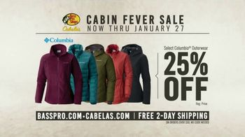Bass Pro Shops Cabin Fever Sale TV Spot, 'Clothing and Outerwear' - Thumbnail 10