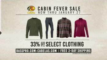 Bass Pro Shops Cabin Fever Sale TV Spot, \'Clothing and Outerwear\'