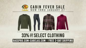 Bass Pro Shops Cabin Fever Sale TV Spot, 'Clothing and Outerwear' - Thumbnail 7