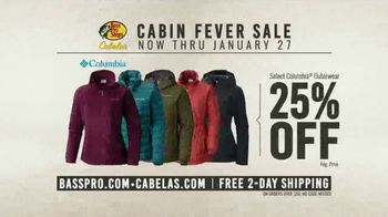 Bass Pro Shops Cabin Fever Sale TV Spot, 'Clothing and Outerwear' - Thumbnail 8