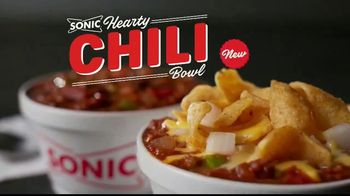 Sonic Drive-In Hearty Chili Bowl TV Spot, 'It's Chili'
