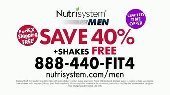Nutrisystem for Men TV Spot, 'The 4-1-1 on Weight Loss: Save 40 Percent' - Thumbnail 10