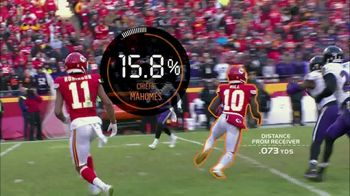 Amazon Web Services TV Spot, 'Next Gen Stats; Tyreek Hill' - 1 commercial airings