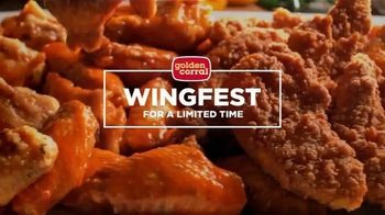 Golden Corral Wingfest TV Spot, 'Something for Everyone'