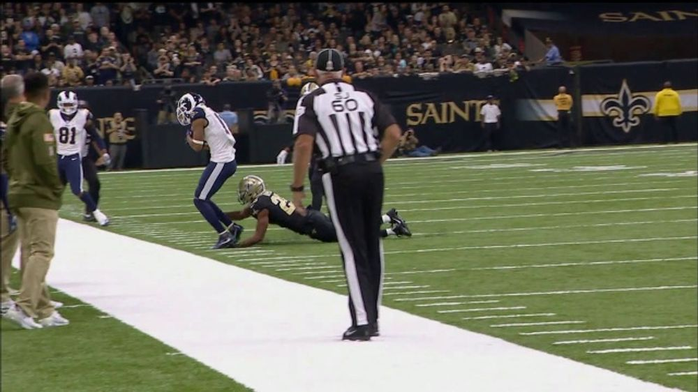 TurboTax Live TV Commercial, 'Expert Review of the Week: Rams vs. Saints'