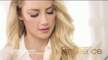 L'Oreal Paris Superior Preference TV Spot, 'Un rubio increíble' con Amber Heard [Spanish] - Thumbnail 2