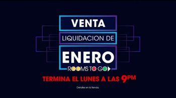 Rooms to Go Venta y Liquidación de Enero TV Spot, 'El último fin de semana' [Spanish] - Thumbnail 8