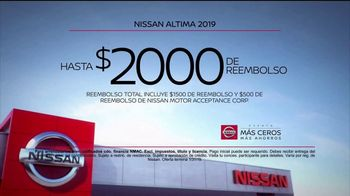 Nissan Evento Más Ceros Más Ahorros TV Spot, 'El mejor momento: en el camino' [Spanish] [T2] - Thumbnail 9