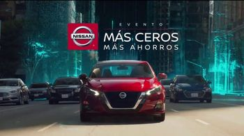 Nissan Evento Más Ceros Más Ahorros TV Spot, 'El mejor momento: en el camino' [Spanish] [T2] - 19 commercial airings