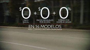 Nissan Evento Más Ceros Más Ahorros TV Spot, 'El mejor momento: en el camino' [Spanish] [T2] - Thumbnail 7