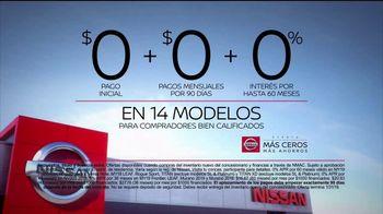 Nissan Evento Más Ceros Más Ahorros TV Spot, 'El mejor momento: en el camino' [Spanish] [T2] - Thumbnail 8