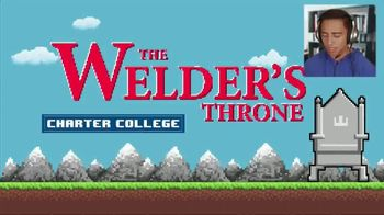 Charter College TV Spot, 'Do You See Yourself on the Welder's Throne'