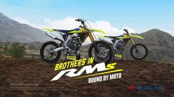 2019 Suzuki RM-Z250 TV Spot, 'Brothers in RMs: Bound by Moto' - Thumbnail 9