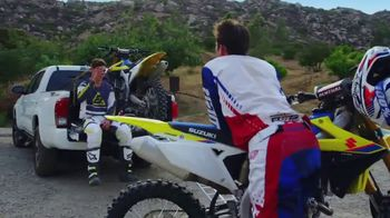2019 Suzuki RM-Z250 TV Spot, 'Brothers in RMs: Bound by Moto' - Thumbnail 8