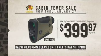 Bass Pro Shops Cabin Fever Sale TV Spot, 'Rangefinder and Rifle' - Thumbnail 5
