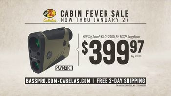 Bass Pro Shops Cabin Fever Sale TV Spot, 'Rangefinder and Rifle' - Thumbnail 6
