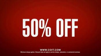COIT TV Spot, '50 Percent: Any Service' - Thumbnail 7