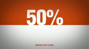 COIT TV Spot, '50 Percent: Any Service' - Thumbnail 5