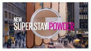 Maybelline New York Super Stay Powder TV Spot, 'Full Coverage From a Powder'