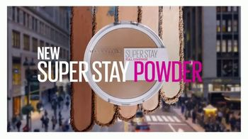 Maybelline New York Super Stay Powder TV Spot, 'Full Coverage From a Powder' - Thumbnail 2