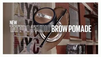 Maybelline Tattoo Studio Brow Pomade TV Spot, 'The New Sculpted Brow' - Thumbnail 6
