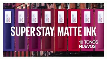 Maybelline SuperStay Matte Ink TV Spot, 'Tonos de Nueva York' con Gigi Hadid [Spanish] - Thumbnail 8