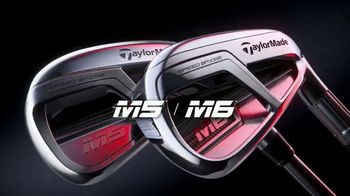 TaylorMade Speed Bridge TV Spot, 'M5 and M6 Irons'
