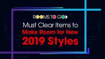 Rooms to Go January Clearance Sale TV Spot, 'Last Chance to Save: Monday' - Thumbnail 2