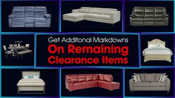 Rooms to Go January Clearance Sale TV Spot, 'Last Chance to Save: Monday' - Thumbnail 3