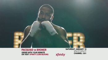 XFINITY On Demand TV Spot, 'Welterweight World Championship: Pacquiao vs. Broner' - Thumbnail 4