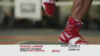 XFINITY On Demand TV Spot, 'Welterweight World Championship: Pacquiao vs. Broner' - Thumbnail 6