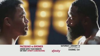 XFINITY On Demand TV Spot, 'Welterweight World Championship: Pacquiao vs. Broner' - Thumbnail 7