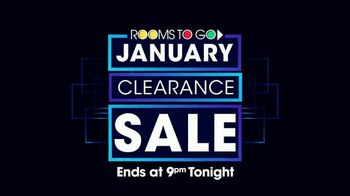 Rooms to Go January Clearance Sale TV Spot, 'Isn't Just Monday' - Thumbnail 10