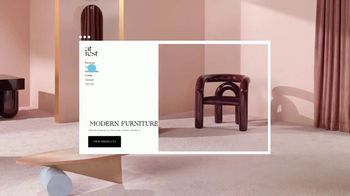 Squarespace TV Spot, 'Modern Furniture' - Thumbnail 6