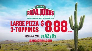 Papa John's TV Spot, 'Go Crazy' - Thumbnail 3