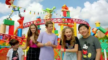 Walt Disney World TV Spot, 'Best Day Ever: Toy Story Land: Deadpan Challenge' Featuring Dakota Lotus - 116 commercial airings