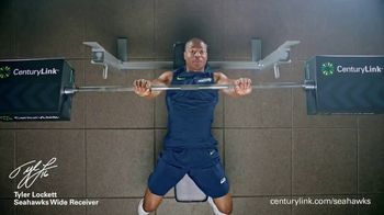CenturyLink Boostbox TV Spot, 'Bench Press' Featuring Tyler Lockett - Thumbnail 3