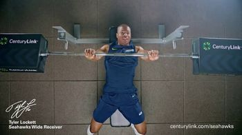 CenturyLink Boostbox TV Spot, 'Bench Press' Featuring Tyler Lockett - Thumbnail 4