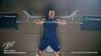 CenturyLink Boostbox TV Spot, 'Bench Press' Featuring Tyler Lockett - Thumbnail 5