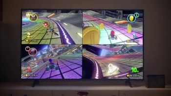 Nintendo Switch TV Spot, 'Mario Kart 8 Deluxe: Gaming Together' Song by Bosley - Thumbnail 6