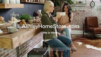 Ashley HomeStore Lowest Prices of the Season TV Spot, 'Barstools, Beds and Sofas' - Thumbnail 5