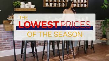 Ashley HomeStore Lowest Prices of the Season TV Spot, 'Barstools, Beds and Sofas' - Thumbnail 2