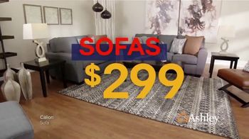 Ashley HomeStore Lowest Prices of the Season TV Spot, 'Barstools, Beds and Sofas' - Thumbnail 3