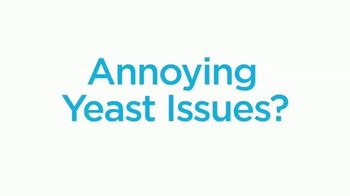 Azo Complete Feminine Balance Daily Probiotic TV Spot, 'Annoying Yeast Issues' - Thumbnail 1