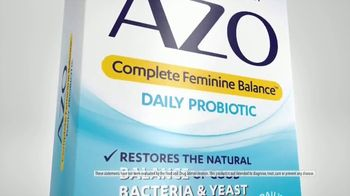 Azo Complete Feminine Balance Daily Probiotic TV Spot, 'Annoying Yeast Issues' - Thumbnail 6