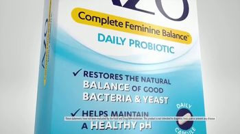 Azo Complete Feminine Balance Daily Probiotic TV Spot, 'Annoying Yeast Issues' - Thumbnail 7