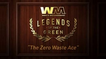 Waste Management TV Spot, 'Legends of the Green: Zero Waste Ace' - Thumbnail 9