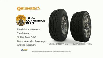 National Tire & Battery TV Spot, 'Continental Tires: Mail-In Rebate & Oil Change' - Thumbnail 7