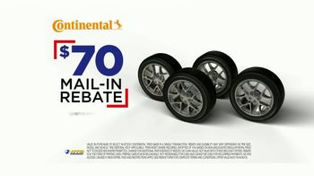 National Tire & Battery TV Spot, 'Continental Tires: Mail-In Rebate & Oil Change' - Thumbnail 9